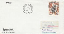 TAAF 1972 Cover Ca Archipel Crozet 14/2/72 (52133) - Cartas
