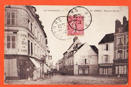 VaG182 ⭐ GISORS 27-Eure Coiffeur Hotel ECU De FRANCE Place Marché 1905 à Alphonse BENOIT Saint-Germain-Laye C.P.A Norman - Gisors