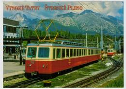 REPUBBLICA  CECA   TREIN- ZUG- TRAIN- TRENI- GARE- BAHNHOF- STATION- STAZIONI  2 SCAN   (NUOVA) - Trenes