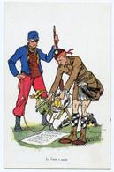 Guerre 14-18.Kaiser Guillaume II Vert De Peur. Tu Dois Payer Louvain.Dinant.Reims.Senlis.Arras. - War 1914-18