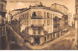 NICE - Hôtel Saint Gothard Et Beauséjour - Très Bon état - Cafés, Hotels, Restaurants