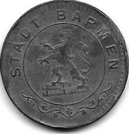 *notgeld  Barmen 50 Pfennig 1917  Zn   30.2b - Andere