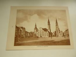 """Origineel Knipsel ( 4091 ) Uit Tijdschrift """" Le Miroir De La Belgique """" 1928 : Sint - Truiden  St. Trond  Markt - Unclassified"""