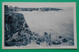 2122- CPA - LE POULDU (29) - La Plage Et Les Rochers - Gaby N° 51 -2 - Le Pouldu