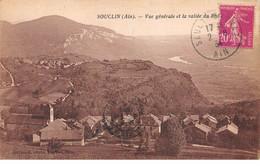 SOUCLIN - Vue Générale Et La Vallée Du Rhône - Très Bon état - Autres Communes