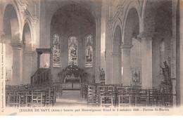 Eglise De SAVY - Très Bon état - Other Municipalities