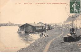 MOULINS - Les Bords De L'Allier (Bateaux Lavoirs) - Très Bon état - Moulins