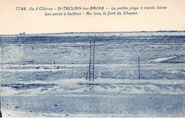 ILE D'OLERON - SAINT TROJAN LES BAINS - La Petite Plage à Marée Basse - Les Parcs à Huîtres - Très Bon état - Ile D'Oléron