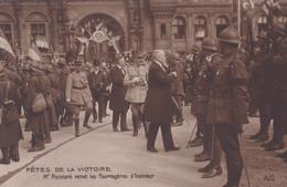 Fête De La Victoire Mr Poincaré Remet Les Fourragères D'honneur - Guerra 1914-18