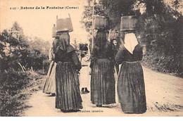 CORSE - Retour De La Fontaine - Très Bon état - Sin Clasificación