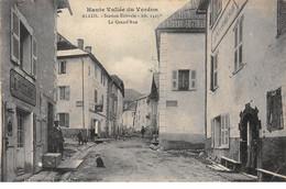ALLOS - La Grand Rue - Très Bon état - Otros Municipios