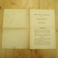 Katholiek Vlaams Studentenverbond Keure Leuven 1900 - Autres