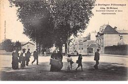 SAINT BRIEUC - Boulevard Charner Et Gare Départementale - Très Bon état - Saint-Brieuc
