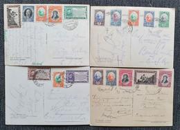 San Marino 1937, Postkarten MiF SAN MARINO Gelaufen Tschechoslowokei - Storia Postale
