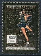 Olympische Spelen  1994 , Guinea -  Zegel  Postfris - Hiver 1994: Lillehammer