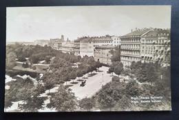 "Lettland 1929, Postkarte RIGA ""Rainis Bulvar"" - Lettonia"