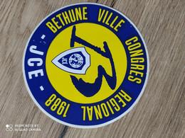 Autocollant Publicitaire, Jce, Congré 1988,Bethune - Stickers