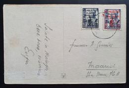 Spanien/Malaga 1937, Postkarte Mi 29/31 - Non Classificati