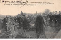 HAYBES - Décembre 1919 - Visite Du Président De La République - Au Cimetière M. Poincaré - Très Bon état - Altri Comuni