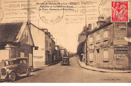 LEVES - Vue Prise Au Carrefour Des Routes De Dreux, Maintenon Et Mainvilliers - Très Bon état - Lèves