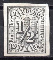 Hamburg Nr, 1 Ungebraucht - Hamburg