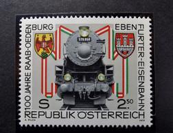 Österreich - Austriche - Austria  - 1979 - N° - 1627  -  Postfrisch -  MNH  -  100 J Raab-Oedenburg-Ebenfurter Einsenbah - 1971-80 Unused Stamps