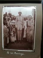 EXCEPTIONNEL ALBUM PHOTOS Grand Format  CONGO BELGE - REGION GRANDS LACS 1929-1930 ( Roi MUSINGA Et Royaux Etc) Etc - Africa
