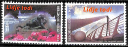 [154484]TB//**/Mnh-Belgique 2004 - N° 3275/76, Liège Toujours - Lîdje Todi, Musée, Pont, SC, SNC - Unused Stamps