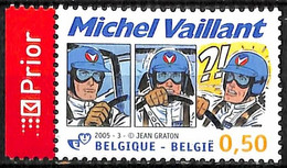 [154529]TB//**/Mnh-Belgique 2005 - N° 3350, Michel Vaillant, De Jean Graton, Art, Bandes Dessinées, Sport Automobile, SN - Comics