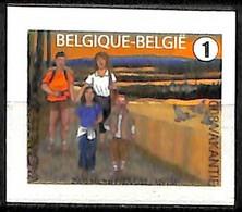 [154872]TB//**/Mnh-Belgique 2008 - N° 3793a, Timbres D'été, ND à Droite, Permanent, Vacances & Tourisme, Oiseaux, Adhési - Neufs