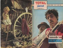 TOTAL JOURNAL N° 32 AOUT 1971 JUNIORAMA  LES GITANS BOHEMIENS MANOUCHE GITANOS SINTI ROMS HERISSON A L'AILLEE - Unclassified