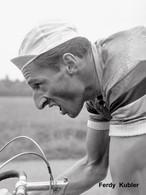PHOTO REENFORCEE, FERDY KUBLER 1954 FORMAT 15 X 20 - Wielrennen