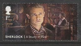 GB 2020 Sherlock Holmes 1st Multicoloured SG 4413 ** MNH - Nuevos