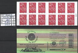 ANNEE 2005 SPLENDIDE LOT DE LUXE CARNET NON PLIER N° 3744A-C5 NEUF (**) CÔTE 28.00€ Y&T A SAISIR!!!!!! - Commemoratives