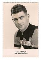 CARTE CYCLISME LOUIS VERRON TEAM CONTINENTAL 1955 - Radsport