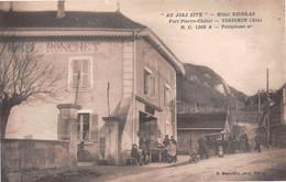 VIRIGNIN (Ain) - Au Joli Site - Hôtel Nicolas - Anciennement Hôtel Ronchet, Puis Cadet - Automobile - Fort Pierre-Châtel - Autres Communes
