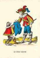 Animaux - Chats - Dessin - Le Chat Botté - Carte De L'imagerie D'Epinal - Carte Neuve - CPM - Voir Scans Recto-Verso - Cats
