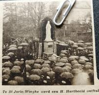 ST. JORIS-WINGHE WERD EEN H. HARTBEELD ONTHULD..1936.. - Ohne Zuordnung