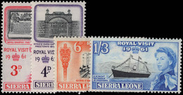 Sierra Leone 1961 Royal Visit Unmounted Mint. - Sierra Leone (1961-...)