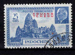 Kouang-Tcheou  - 1941 - Tb Indochine Surch - Pétain  -  N° 139 - Oblit - Used - Usati