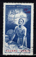 Kouang-Tcheou  - 1942 - Tb Indochine Surch - Quinzaine Impériale -  PA N° 4- Oblit - Used - Usati