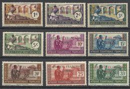 AFRIQUE EQUATORIALE FRANCAISE - AEF - A.E.F. - 1940 - YT 92/100** - SAUF 101 - Nuevos
