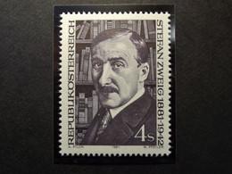 Österreich - Austriche - Austria  - 1981 - N° - 1692 - Postfrisch -  MNH  -   Stefan Zweig - 1981-90 Unused Stamps