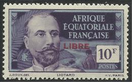 AFRIQUE EQUATORIALE FRANCAISE - AEF - A.E.F. - 1940 - YT 137** - Nuevos