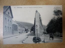 Fécamp Route De Dieppe Et De Valmont - Fécamp