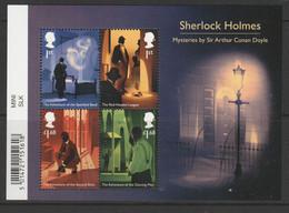 GB 2020 Sherlock Holmes Multicoloured SG MS 4417 ** MNH - Hojas Bloque