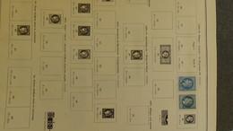 S221 Collection France Oblitérés De 1849 à 1980 Dont Bonnes Petites Valeurs à Compléter. Voir Commentaires A Saisir !!! - Verzamelingen (in Albums)