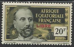 AFRIQUE EQUATORIALE FRANCAISE - AEF - A.E.F. - 1940 - YT 138** - Nuevos
