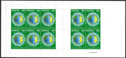 Senegal 2020 COVID-19 Corona Pandemic Pandemie Virus Stamp Booklet Joint Issue - Enfermedades