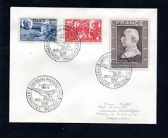 N1-12  France Beaux N° 606.à 608 Sur Lettre  A Saisir !!! - 1921-1960: Modern Tijdperk